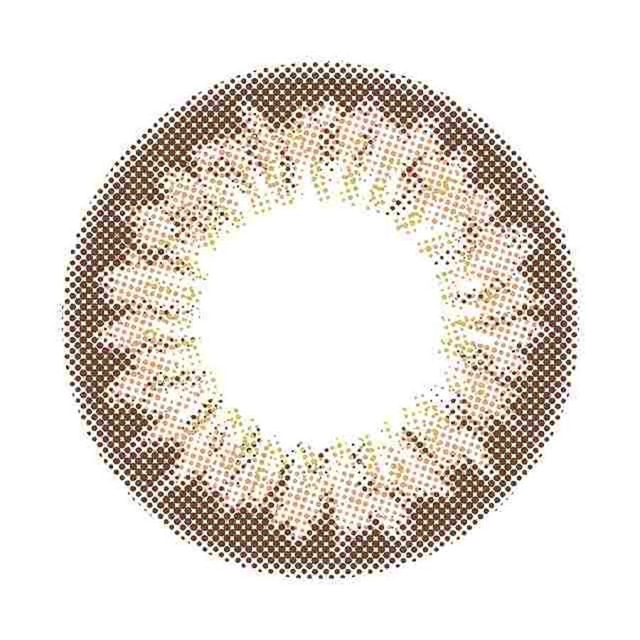 カラコン ワンマンス リフレア リル 【1箱2枚入】 度あり 度なし DIA:14.1mm 14.2mm ロン・モンロウ1monthRefrear Lilou プチプラ ナチュラル 1ヶ月 マンスリー カラーコンタクト コンタクト 40