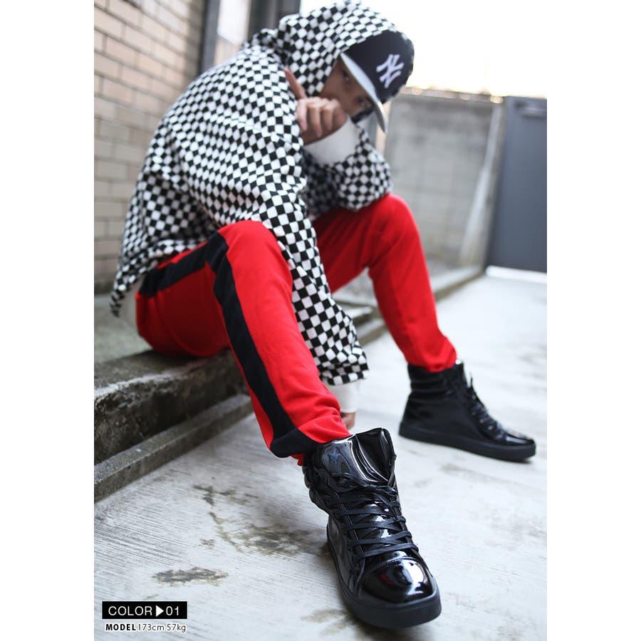 靴紐 AF-FW-KH-009 エースフラッグ ACEFLAG シューレース お手持ちの靴の印象をガラリと変える魔法の靴ひも くつひもメンズ 春夏秋冬用 黒 ブラウン 白 男女兼用 b系 ヒップホップ ストリート系 ファッション ブランド ギフト 3