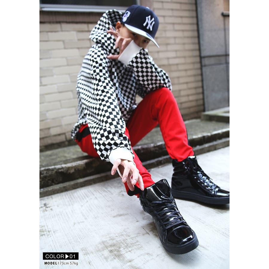 靴紐 AF-FW-KH-009 エースフラッグ ACEFLAG シューレース お手持ちの靴の印象をガラリと変える魔法の靴ひも くつひもメンズ 春夏秋冬用 黒 ブラウン 白 男女兼用 b系 ヒップホップ ストリート系 ファッション ブランド ギフト 4