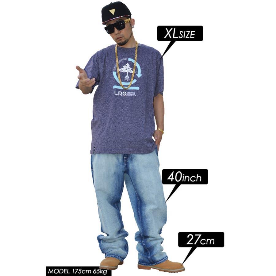 【J141016】Tシャツ LRG エルアールジー 半袖クルーネック 大人霜降り生地 ブランドロゴ ツリー フロント プリント XLサイズ 大きいサイズ あり 紫 黒 正規品 b系 ヒップホップ ストリート系 ファッション メンズ レディース   5