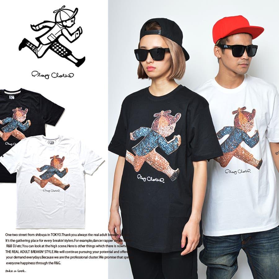 いい買い物ができました! メンズファッション通販b系 ヒップホップ ストリート系 ファッション メンズ レディース Tシャツ  621-8207  DIAMOND JACK プレイクローズ PLAY CLOTHS プリント Tシャツ M L 大きいサイズ 正規品 暴露