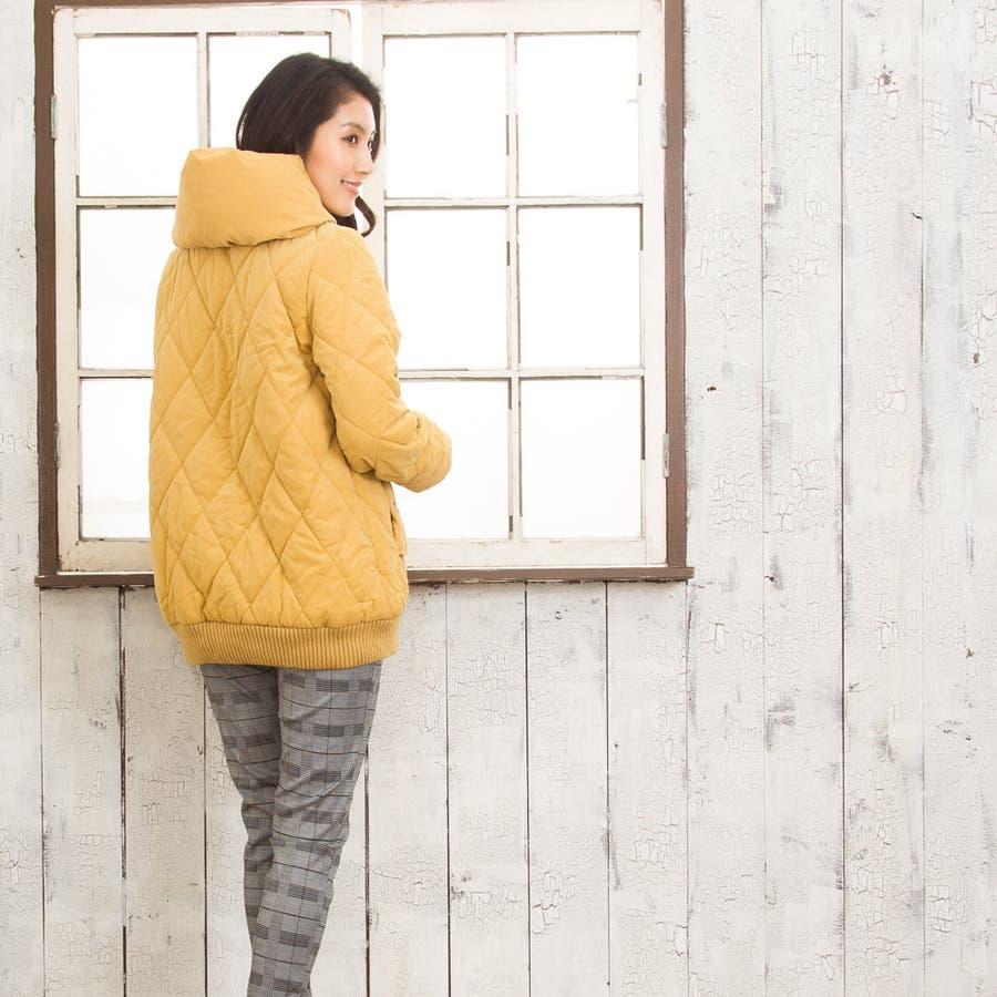 【新発売】レディース ブルゾン ビックネック 裏地 もこもこ ネイビー マスタード ベージュ ピンク M/L/XL 大きいサイズママプレゼント アウター ポケット付き 暖かい 防寒 カジュアル かわいい 便利 8
