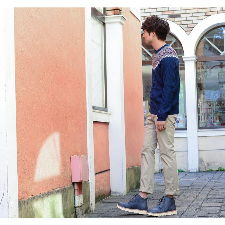 正規品 メンズ セーター ニット ブルー カーディガン 冬 あったかい おしゃれ かっこいい 男 流行 トレンド カジュアルフォーマルM/L/LL 通販 7