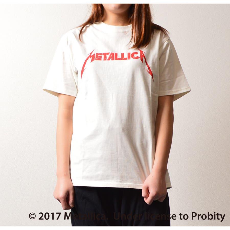 MeアカロゴTレディースファッション通販 ユニセックス人気 カジュアル バンド メタリカ Tシャツ ブランド カットソー