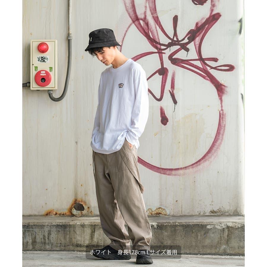 Tシャツ メンズ レディース ビッグTシャツ 長袖 グラフィック プリントTシャツ クルーネック ビッグシルエット オーバーサイズゆったり 大きいサイズ ロンT カットソー 黒 白 ストリート系 ストリートファッション 韓国ファッション improves 6