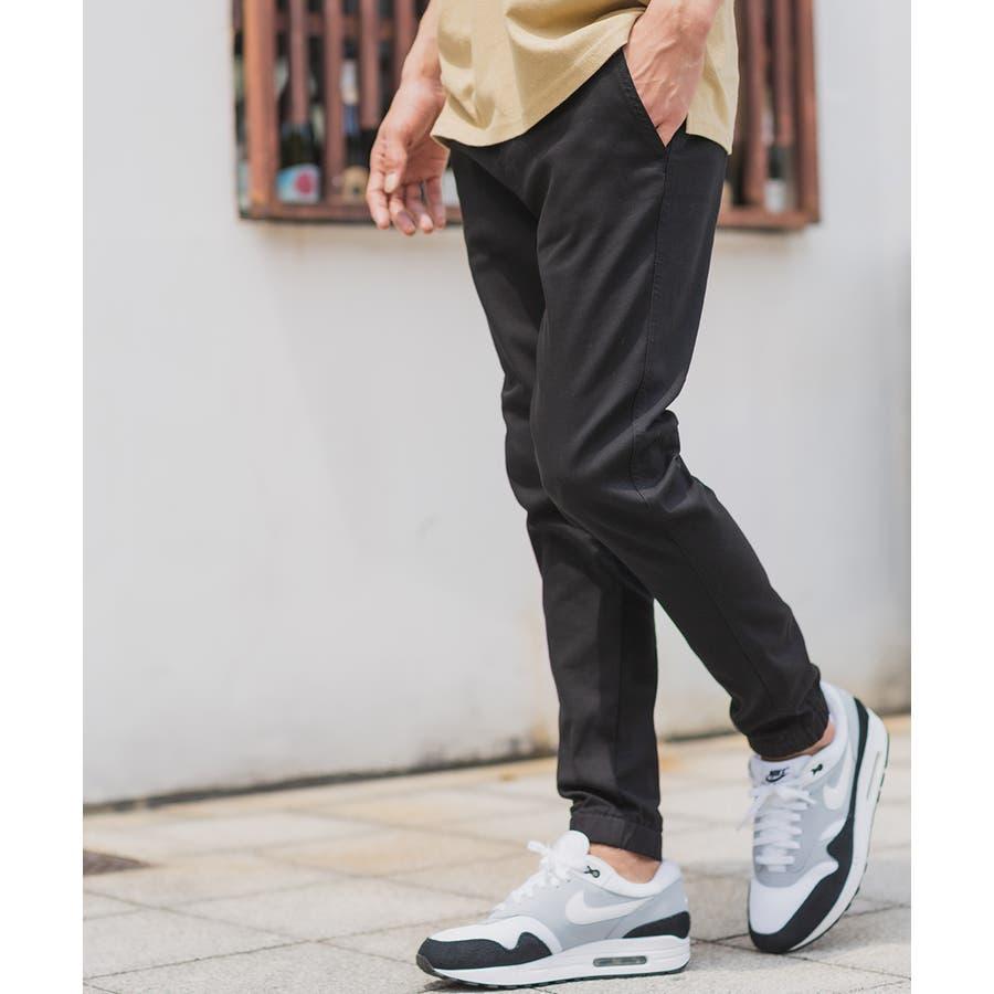 ジョガーパンツ メンズ レディース チノパン ストレッチ チノパンツ スリム イージーパンツ テーパード ブラック ベージュブラウンカーキ ネイビー 黒 きれいめ カジュアル ストリート系 ストリートファッション スケーター メンズファッションインプローブスimproves 21