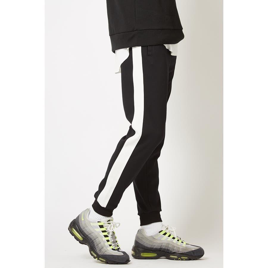 ラインパンツ メンズ レディース 黒 ダンス 韓国 ファッション サイドライン パンツ ジャージ スウェットパンツスエットパンツブラック グレー 白 improves 21