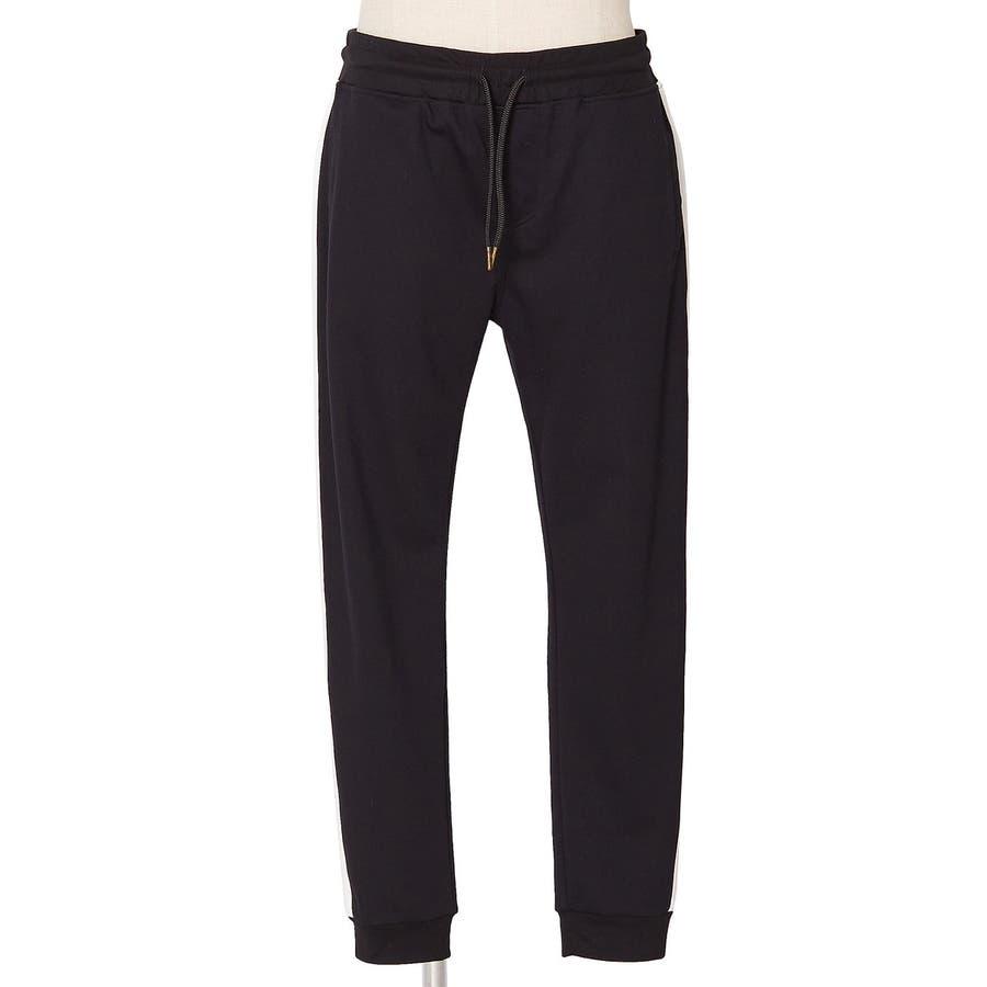 ラインパンツ メンズ レディース 黒 ダンス 韓国 ファッション サイドライン パンツ ジャージ スウェットパンツスエットパンツブラック グレー 白 improves 7