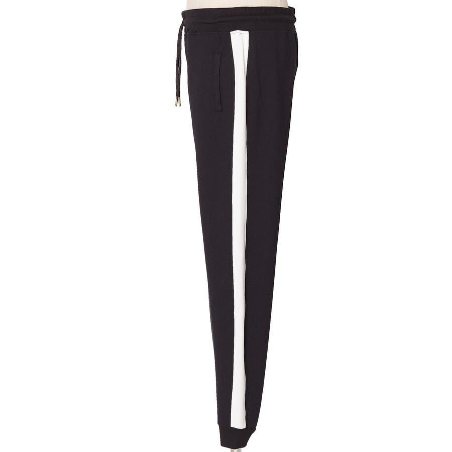 ラインパンツ メンズ レディース 黒 ダンス 韓国 ファッション サイドライン パンツ ジャージ スウェットパンツスエットパンツブラック グレー 白 improves 8