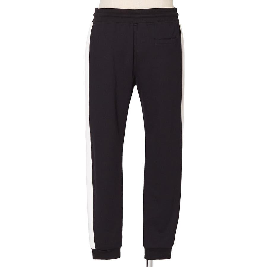 ラインパンツ メンズ レディース 黒 ダンス 韓国 ファッション サイドライン パンツ ジャージ スウェットパンツスエットパンツブラック グレー 白 improves 9