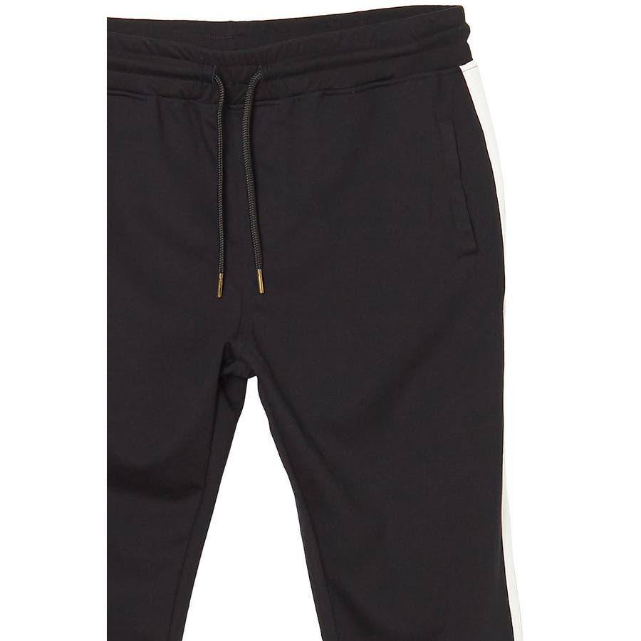 ラインパンツ メンズ レディース 黒 ダンス 韓国 ファッション サイドライン パンツ ジャージ スウェットパンツスエットパンツブラック グレー 白 improves 10