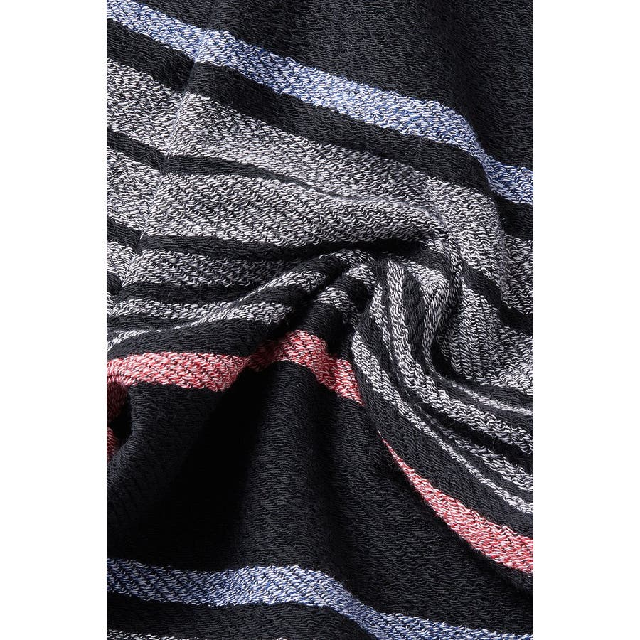 裏使い ボーダー スウェットパンツ メンズ レディース ジョガーパンツ スエットパンツ ジャージ セットアップ 上下 可能ストリートサーフ系 イージーパンツ テーパード ブラック 黒 スケーター カジュアル メンズファッション インプローブスimproves 9