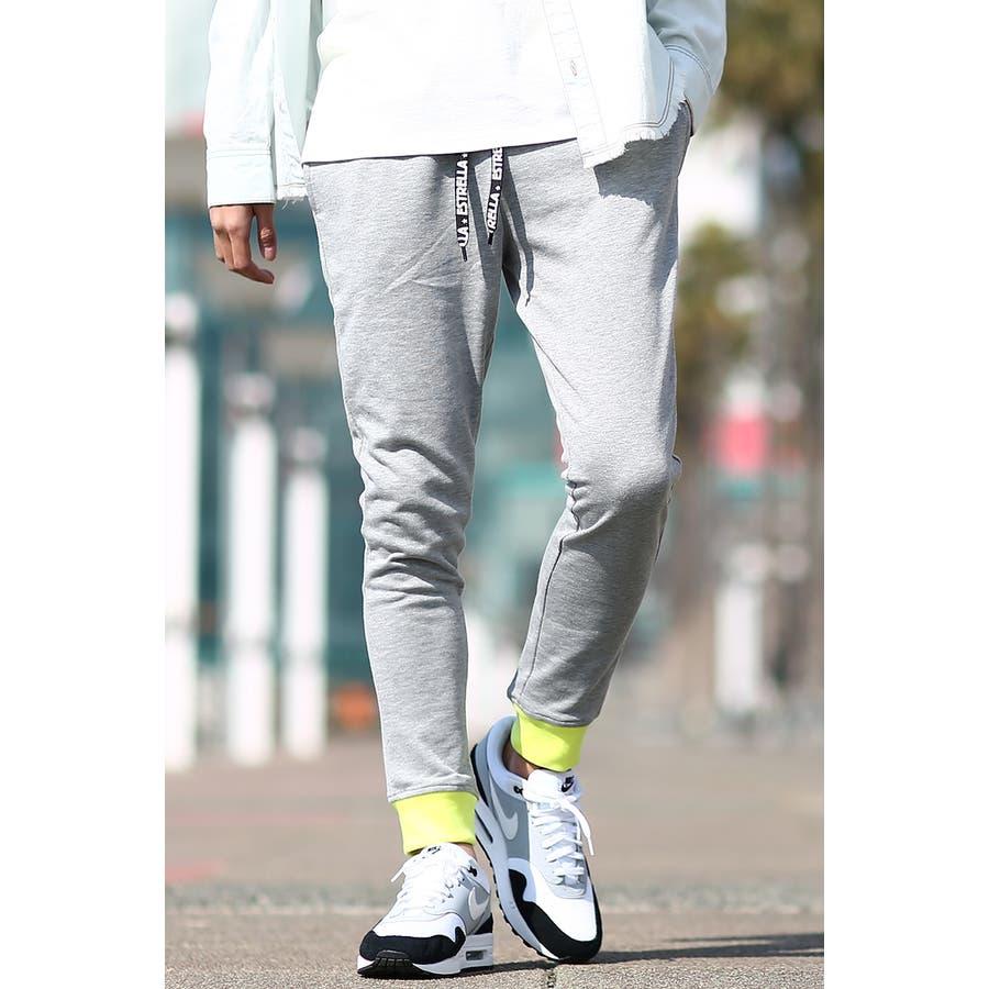 ネオンカラー スウェットパンツ メンズ レディース スリム スエットパンツ ジョガーパンツ ジャージ セットアップ 上下 可能蛍光色イージーパンツ テーパード ブラック グレー 黒 ストリート系 サーフ系 カジュアル メンズファッションインプローブスimproves 23
