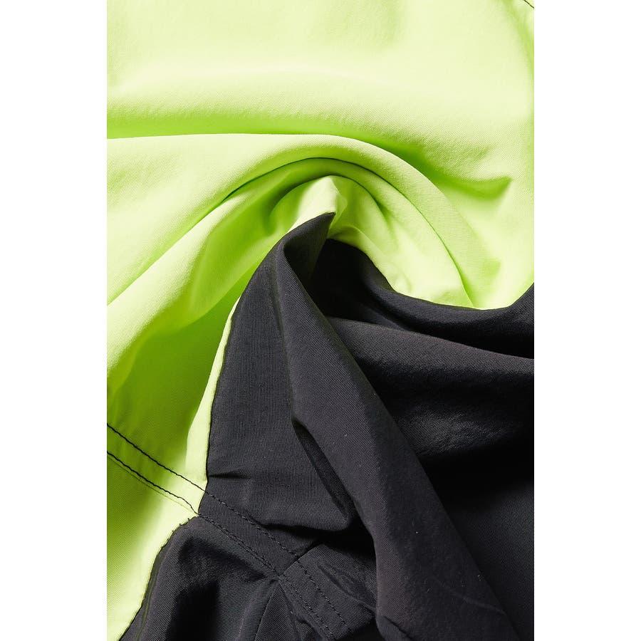 ナイロンパンツ メンズ レディース ジョガーパンツ スポーツ シャカシャカパンツ シャカパン ダンス ヒップホップトラックパンツ 黒ブラック 蛍光 イエロー ネオンカラー 韓国 ファッション サーフ系 improves 9