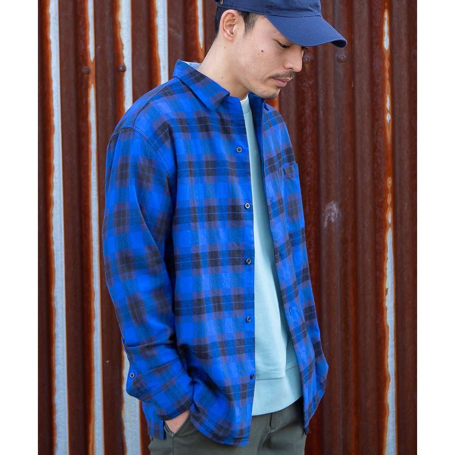 チェックシャツ メンズ 韓国 59