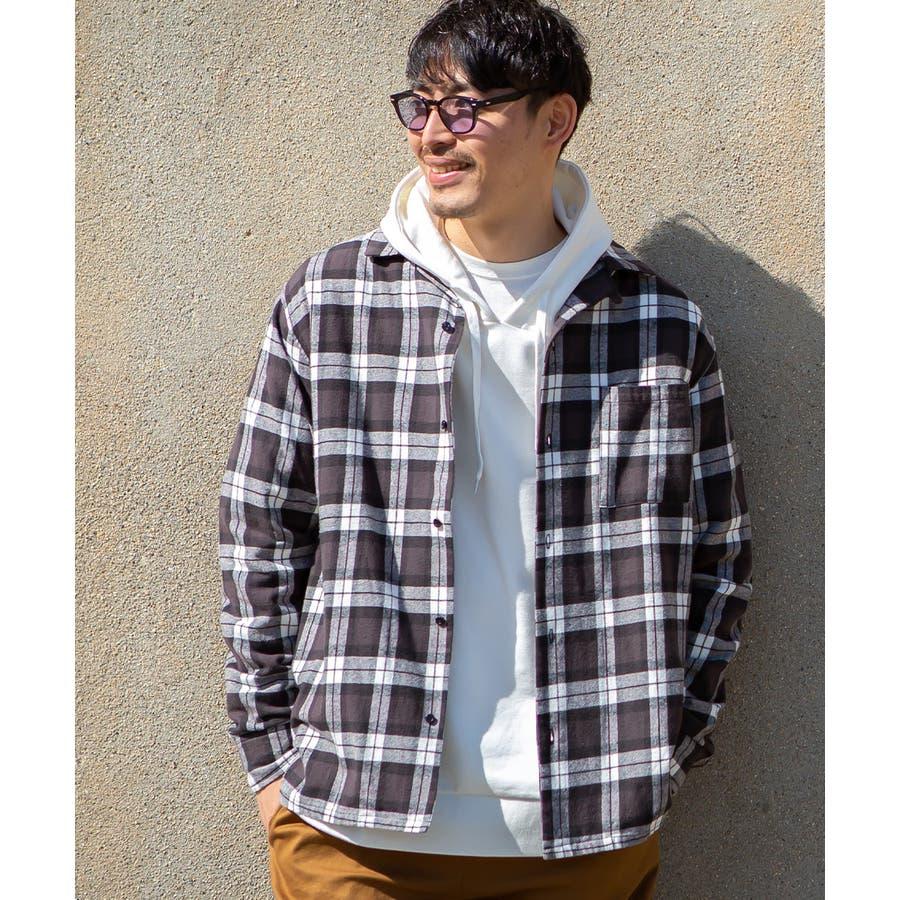 チェックシャツ メンズ 韓国 21