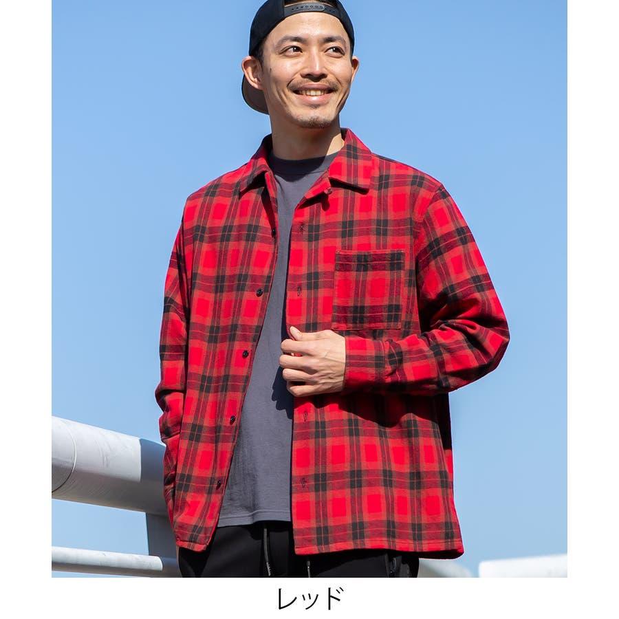 チェックシャツ メンズ 韓国 6