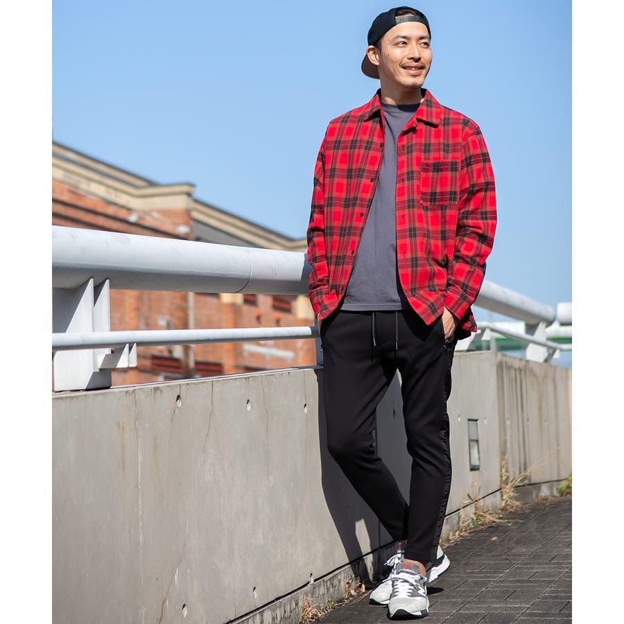 チェックシャツ メンズ 韓国 7