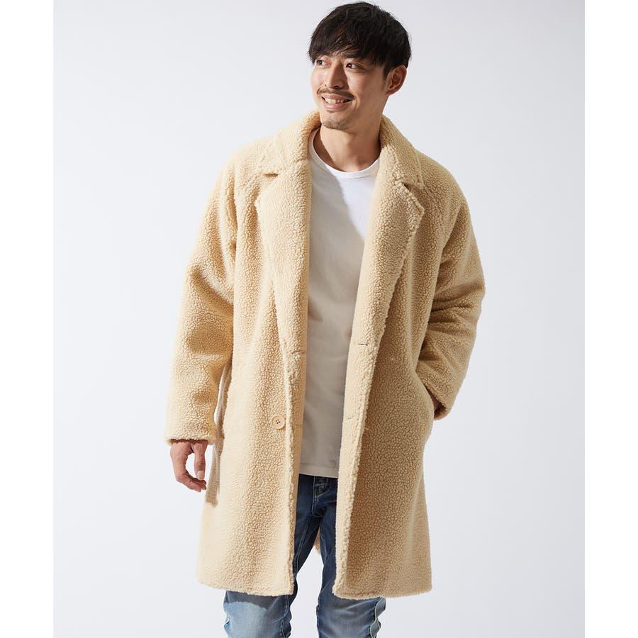 チェスターコート メンズ レディース シープボア ビッグシルエット もこもこ あったか 暖かい ゆったり 大きいサイズ オーバーサイズロング丈 ロングコート 無地 レオパード柄 豹柄 ヒョウ柄 黒 ストリート系 ストリートファッション 韓国ファッションimproves 41