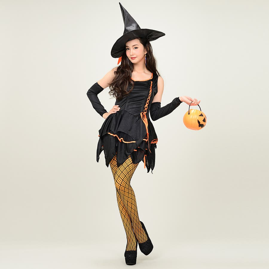 【ハロウィン】コスプレ/ハロウィン/コスチューム/ハロウィーン/cosplay/制服/魔女