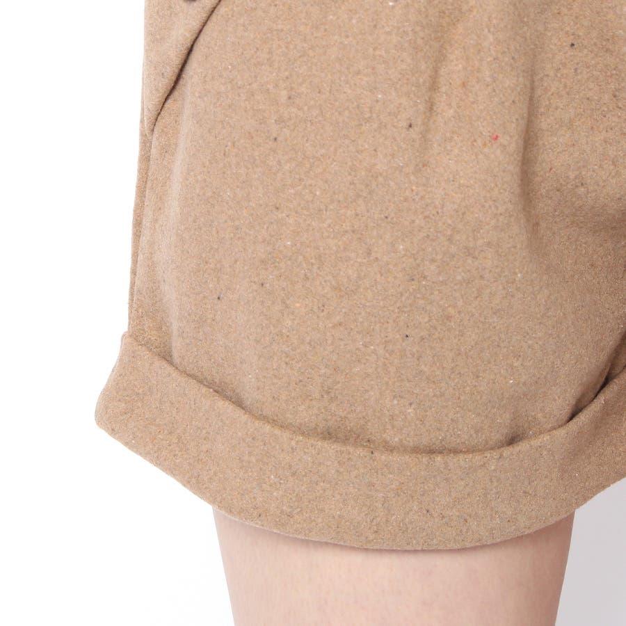可愛い!ショートパンツ全2色サイズあり大きい/ショート/ワイド/スーツ/ハイウエスト/レギンス 4