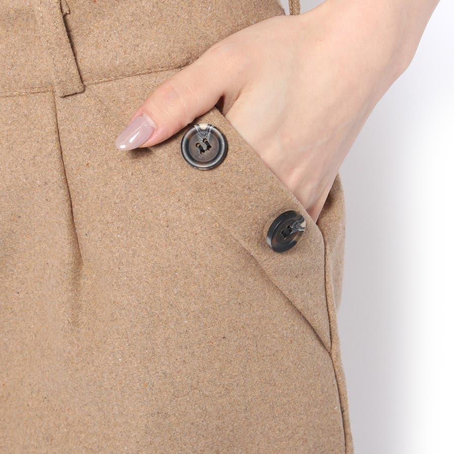 可愛い!ショートパンツ全2色サイズあり大きい/ショート/ワイド/スーツ/ハイウエスト/レギンス 9