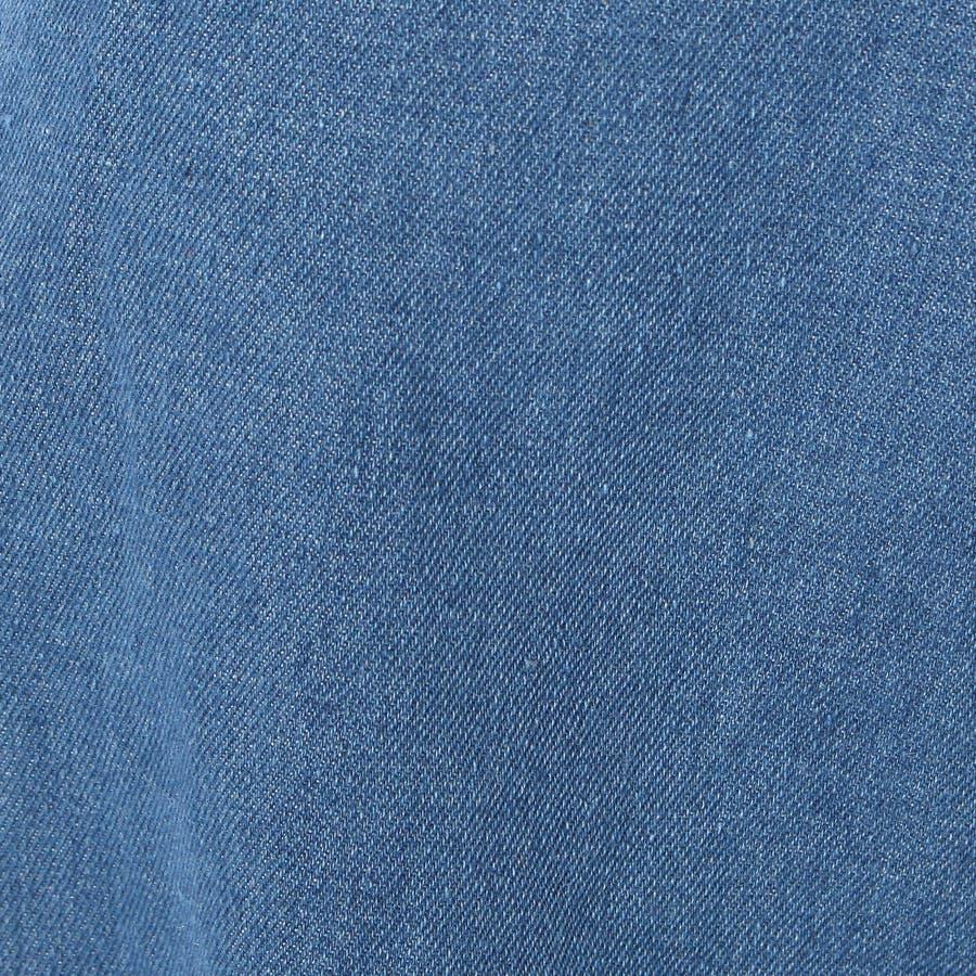 デニムショートパンツ 全3色 ジーンズ インディゴ ボトムスキニーレギンスサルエル【新作春夏】大きい/ショート/ワイド/アメリカンガール/スーツ/レディースファッション通販 6