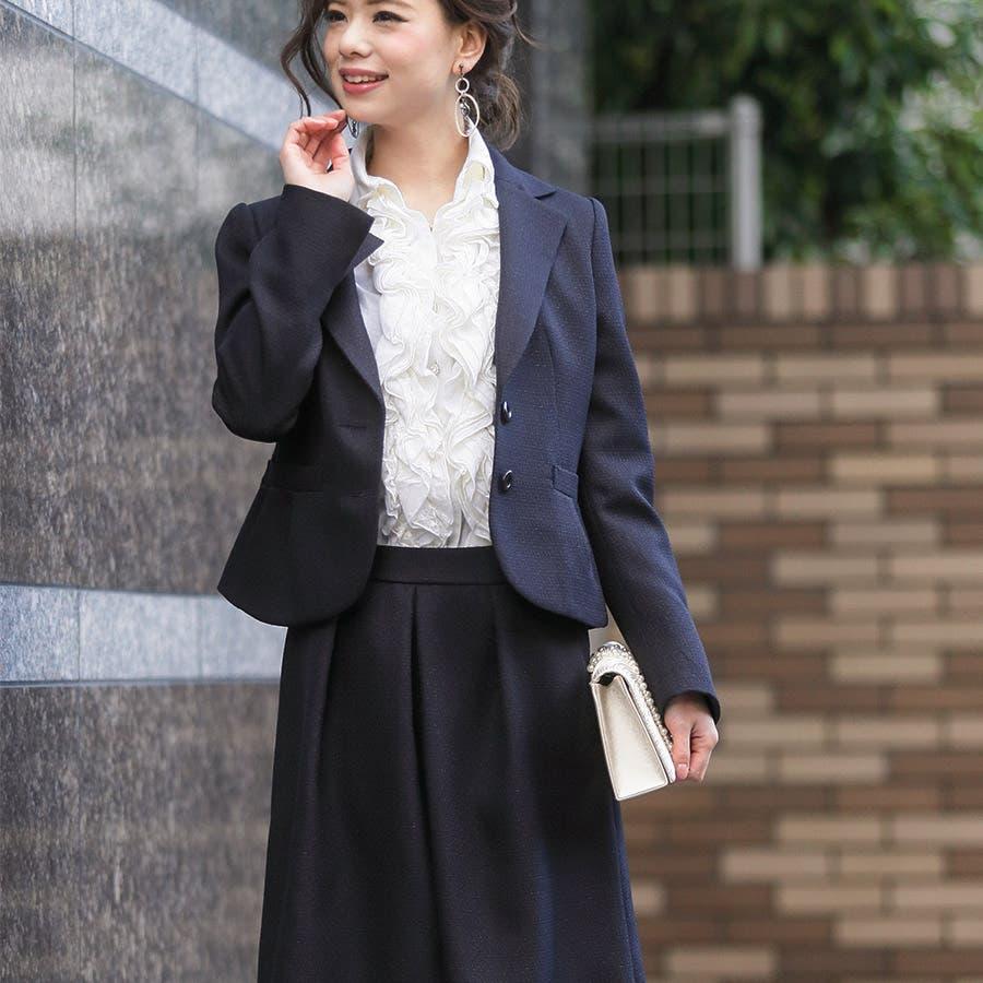 スーツ 卒業式 入学式 ママ ビジネス フォーマル スカート ワンピース ジャケット 3点セット 21703 春