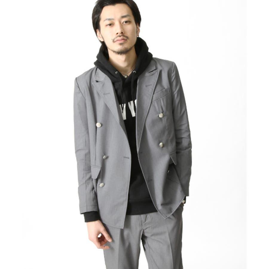 テーラードジャケット メンズ/メンズファッション/スーツ フォーマル ジャケット ライトアウター カモフラ ウィンドペンチェック