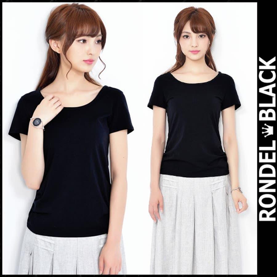 凄い素敵 シンプル Tシャツ 半袖 無地 tシャツ 黒 ブラック Tシャツ トップス 半袖 レディース 女性 黒 black T-shirtsBlack 無地 tシャツ ロンデルブラック セクシー T-SHIRTS Tシャツ 汽艇