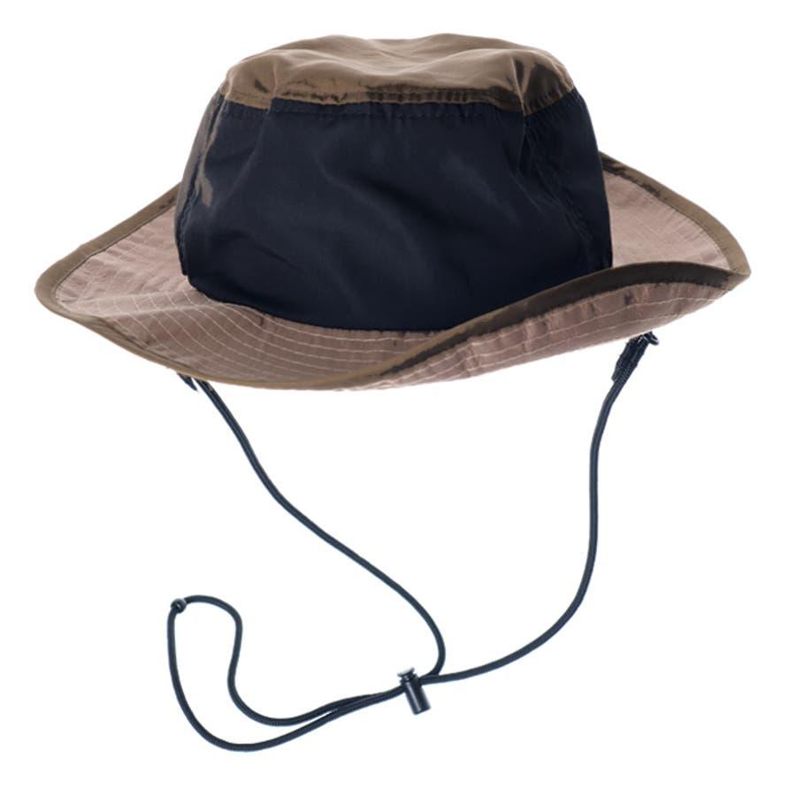 サファリハット レディース 撥水 紫外線対策 UV対策 折りたたみ ポケッタブル アウトドア 帽子 ハット 夏 夏服 大人かわいい スポーティ アウトドア ビーチハット サーフハット アドベンチャーハット 日焼け対策 キャンプ フェス 46