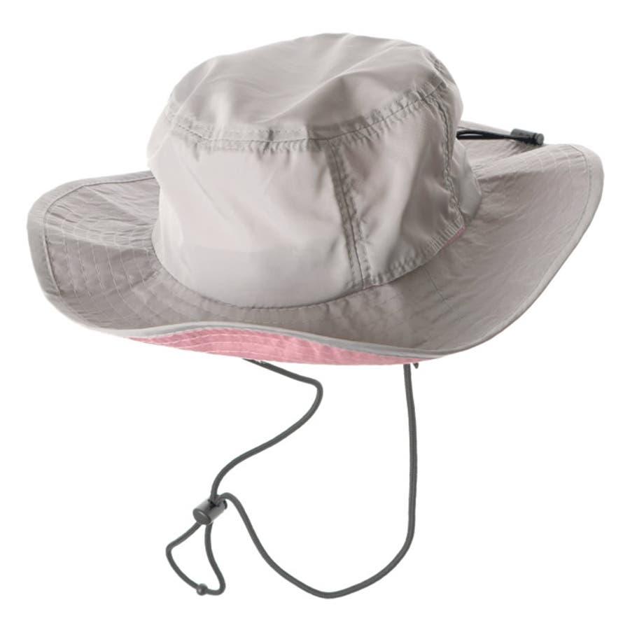 サファリハット レディース 撥水 紫外線対策 UV対策 折りたたみ ポケッタブル アウトドア 帽子 ハット 夏 夏服 大人かわいい スポーティ アウトドア ビーチハット サーフハット アドベンチャーハット 日焼け対策 キャンプ フェス 24