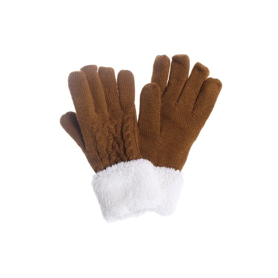手袋 レディース 韓国 韓国ファッション かわいい ニット グローブ 暖かい 冬 ケーブル編み 防寒 プレゼント ボア フリース 通勤 通学 オフィス 中学生 高校生 大学生 人気 プチプラ 寒さ対策 冷え対策 ギフト プレゼントギフト てぶくろ 6