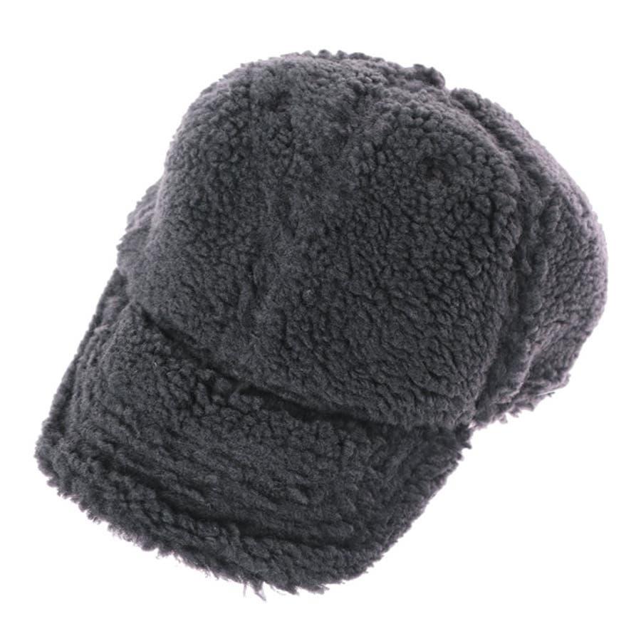 キャップ レディース ボアキャップ CAP 帽子 おしゃれ 無地 黒 ベージュ ぼうし ハット 秋冬 深め シンプル 無地 ローキャップ フェミニン 大人かわいい 韓国 韓国ファッション 暖かい 秋 冬 人気 プチプラ ストリート  64