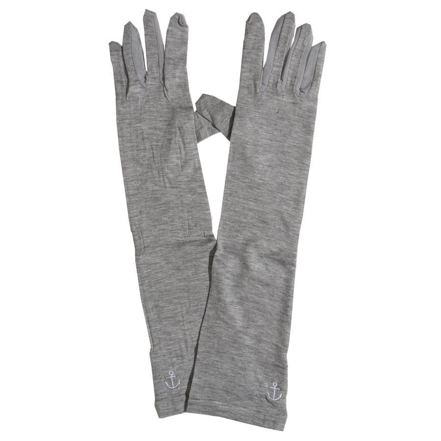 手袋 冷感 夏用 日焼け アームカバー 手袋 ロング 指あり 五本指 日焼け対策 レディース グローブ アームウォーマー 日除け日焼け予防 紫外線予防 紫外線対策 日焼け防止 プチプラ ギフト 安い シンプル 23