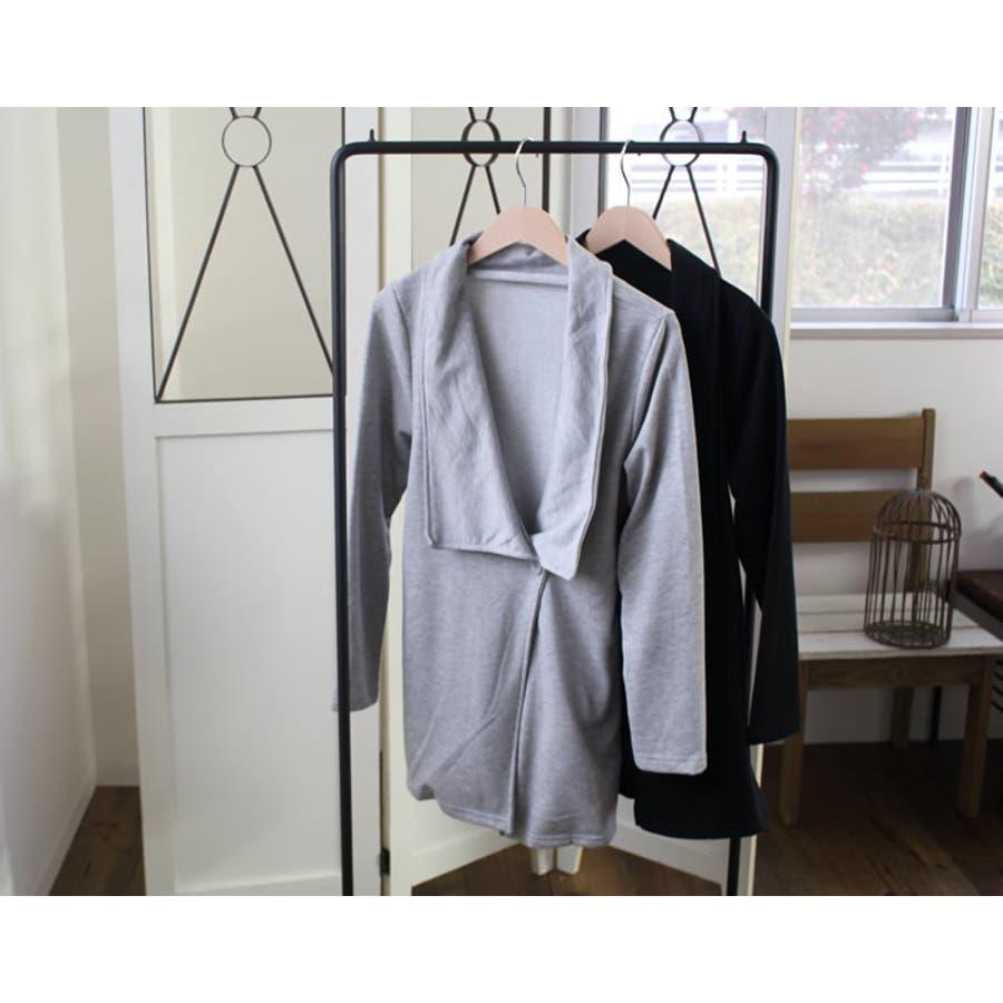 カーディガン ガウンカーディガン ロング ロングカーディガン ガウン レディース 黒 長袖 春 ゆったり ライトアウター アウター 羽織物 羽織もの 透け感なし 韓国 韓国ファッション 人気 プチプラ オフィスカジュアル オフィス きれいめ 無地 シンプル 3
