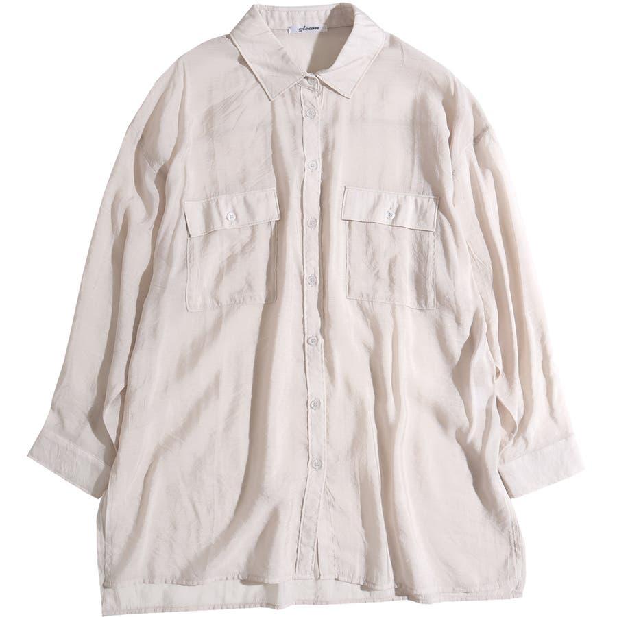シャツ シアーシャツ レディース ビッグシルエット オーバーサイズ ブラウス シアー 透け感 肌みせ 肌見せ おしゃれ ロングロングシャツ ビッグシャツ 羽織り 春 夏 トップス 上着 韓国 韓国ファッション きれいめ カジュアル 体系カバー 長袖 セクシー 16