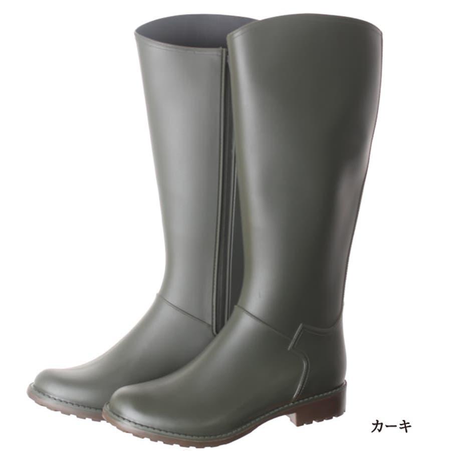 長靴 レディース レインブーツ レインシューズ 大きいサイズ ロング 雨 雪 防寒 防水 軽量 おしゃれ 靴 滑らない ブーツ ロングブーツ 雨具 シューズ 靴 雨の日 雨靴 雨用 雪用 雪 プチプラ 歩きやすい ローヒール  53