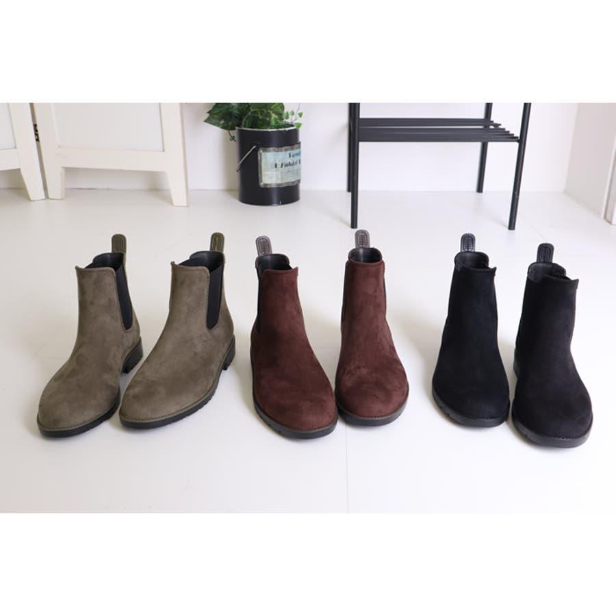 レインブーツ レディース 大きいサイズ おしゃれ ショート サイドゴア 長靴 ブーツ サイドゴアブーツ 雨の日 通勤 通学 晴雨兼用 ショートブーツ ブーティ アンクルブーツ 韓国ファッション 韓国 ながぐつ 雪 靴 シューズ 無地 大人 シンプル 3