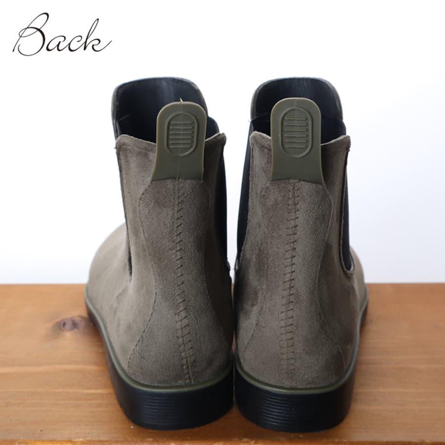 レインブーツ レディース 大きいサイズ おしゃれ ショート サイドゴア 長靴 ブーツ サイドゴアブーツ 雨の日 通勤 通学 晴雨兼用 ショートブーツ ブーティ アンクルブーツ 韓国ファッション 韓国 ながぐつ 雪 靴 シューズ 無地 大人 シンプル 6