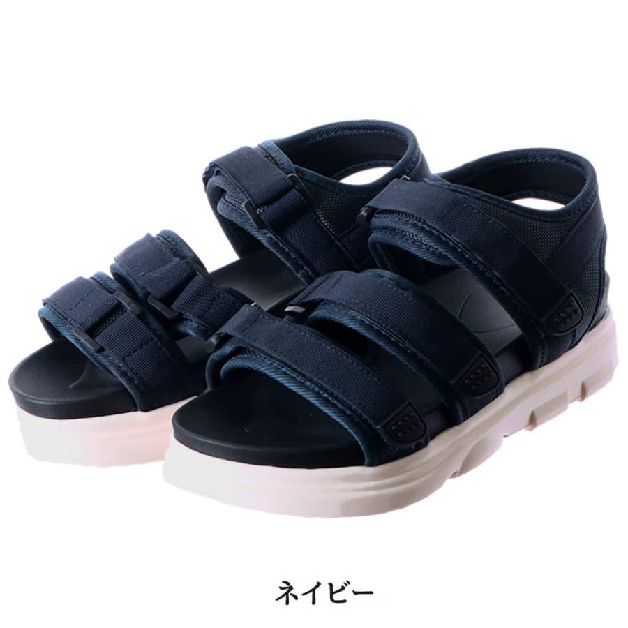 スポーツサンダル 厚底 レディース 脱ぎ履きやすい フラット 韓国 韓国ファッション 人気 プチプラ 大きいサイズ 厚底サンダル スポサン サンダル 黒 ストリート シューズ  ストラップ ストラップサンダル 靴 夏 海 プール カジュアル 歩きやすい 疲れない 痛くない 64