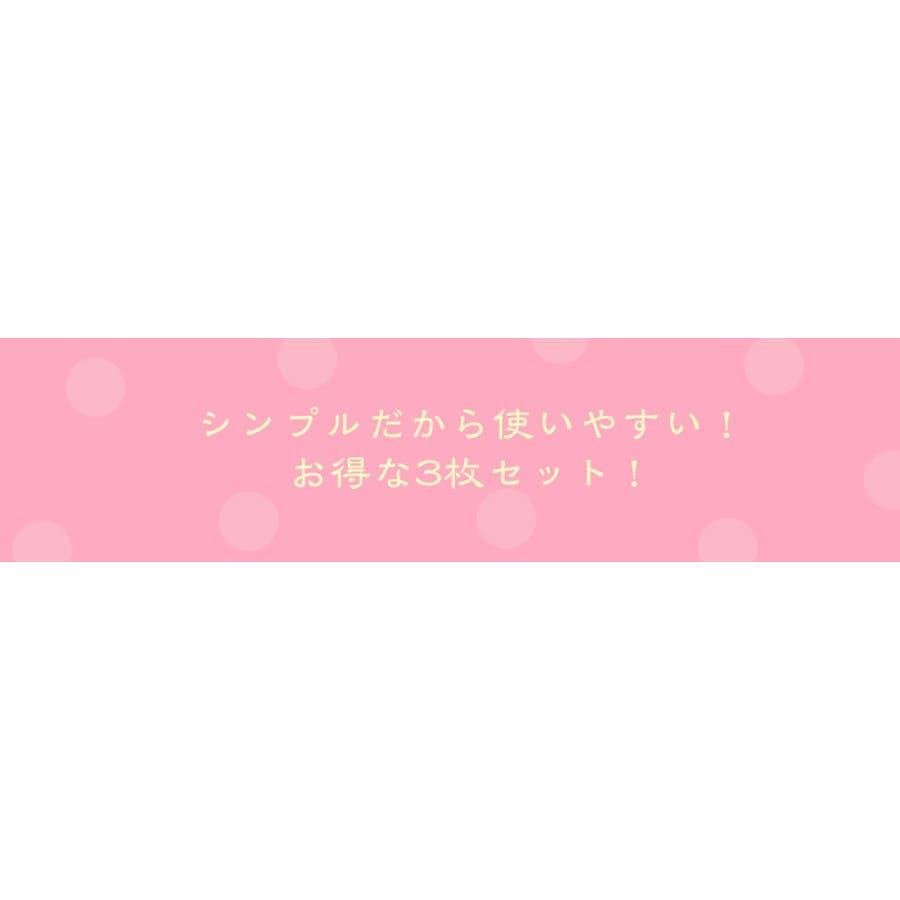 ジャコンヌ ポケット付き サニタリーショーツ3枚セット【昼用・羽根付対応】『M〜LL』 8