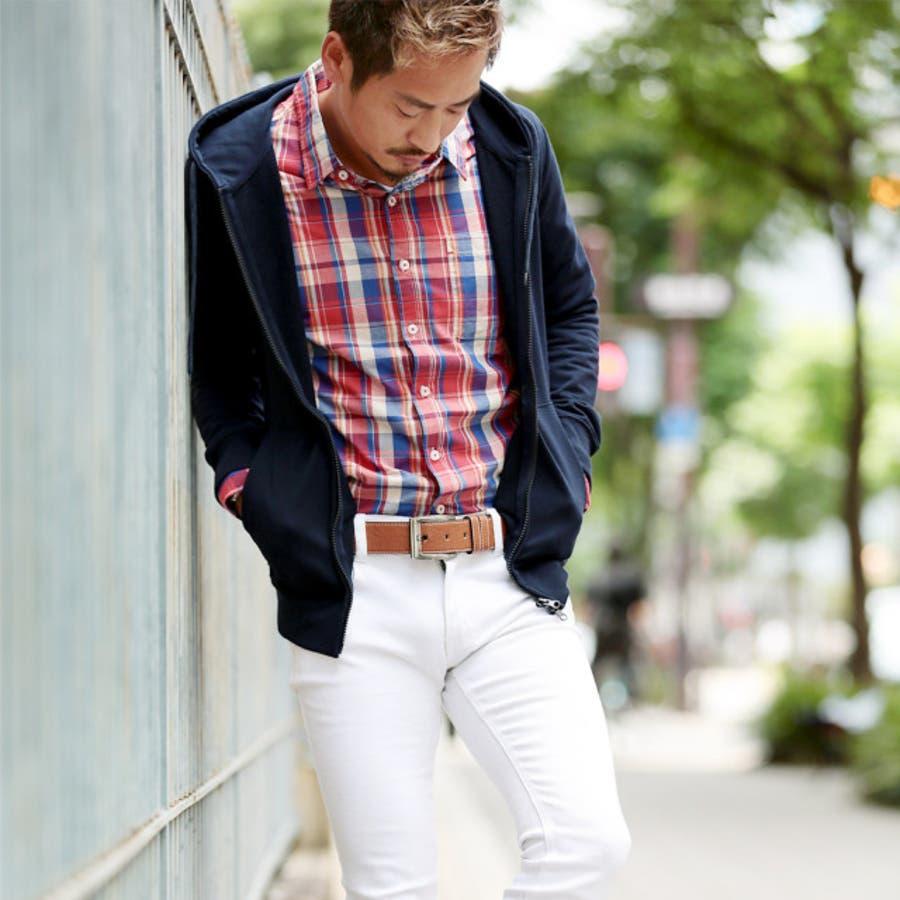 ◆カラーベルト◆ベルト メンズ レザーベルト カジュアル ビジネス ブランド レザー 革 メンズファッション プレゼント 男性 5