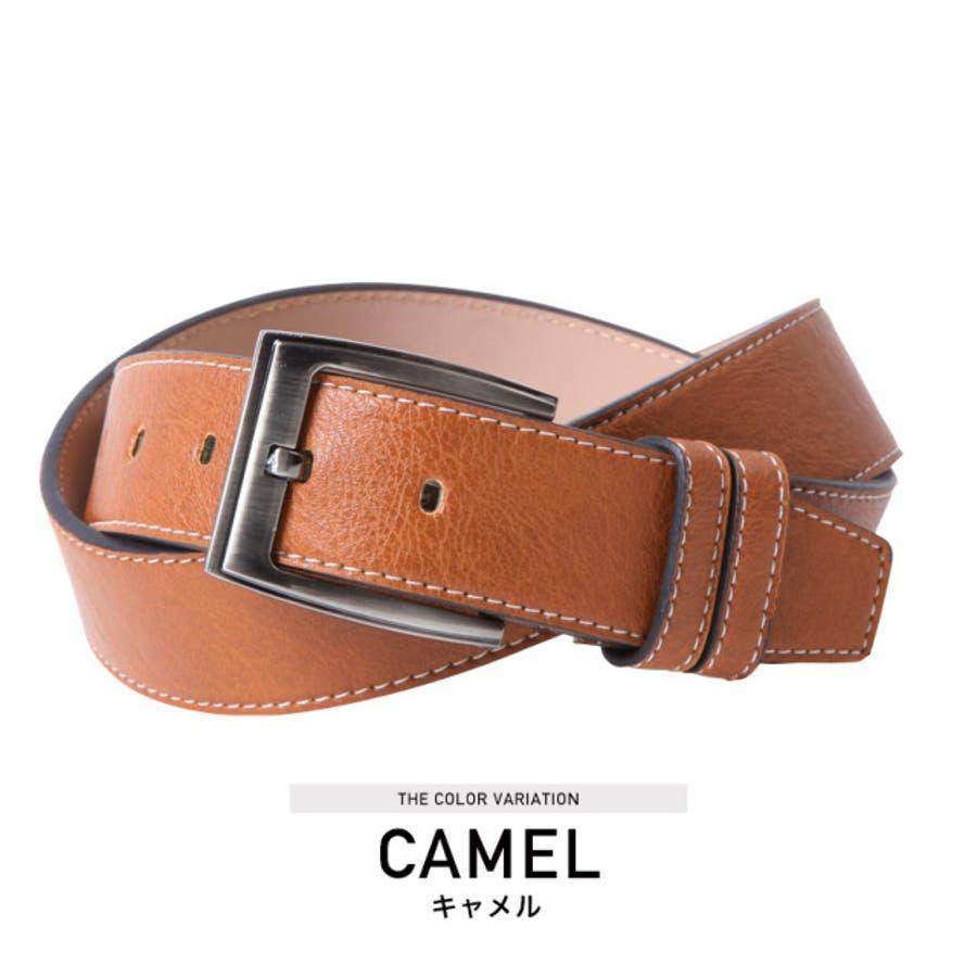 ◆カラーベルト◆ベルト メンズ レザーベルト カジュアル ビジネス ブランド レザー 革 メンズファッション プレゼント 男性 10