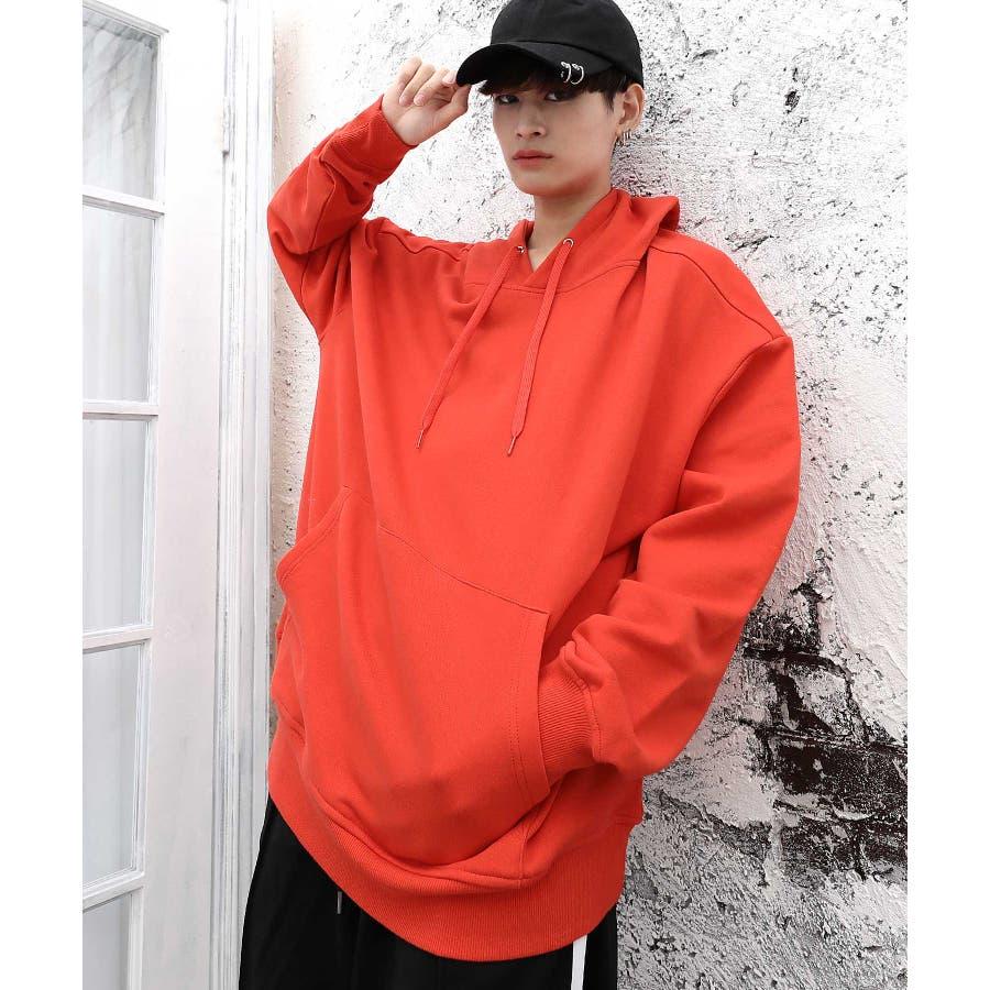 パーカー ゆったり パーカー 韓国 ファッション メンズ 定番 ◆ビッグシルエット プルオーバー パーカー◆ 99