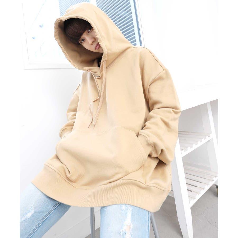 パーカー ゆったり パーカー 韓国 ファッション メンズ 定番 ◆ビッグシルエット プルオーバー パーカー◆ 3
