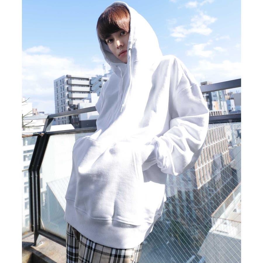 パーカー ゆったり パーカー 韓国 ファッション メンズ 定番 ◆ビッグシルエット プルオーバー パーカー◆ 16