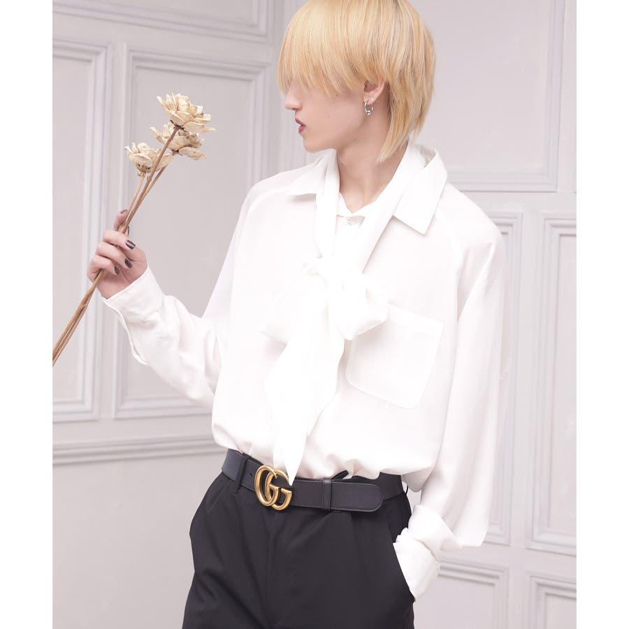 韓国 ファッション メンズ 服◇G.O.C(ジーオーシー)タイ付き ドルマン ...
