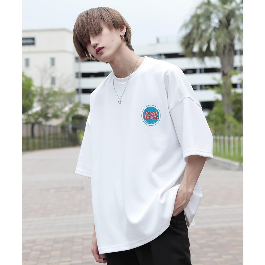 韓国 ファッション メンズ 服◆G.O.C(ジーオーシー)マルチバックプリント ビッグシルエット半袖Tシャツ◆ 16