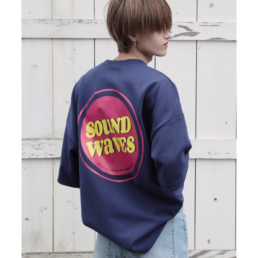 韓国 ファッション メンズ 服◆G.O.C(ジーオーシー)マルチバックプリント ビッグシルエット半袖Tシャツ◆ 64